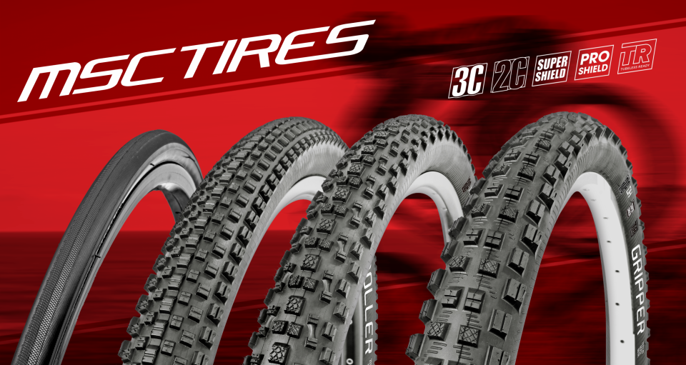 MSC Bikes – Bicicletas mountain bike, componentes y neumáticos MSC Tires